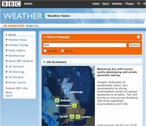 Displaying the local weather forecast on your WordPress.com website