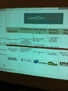 Bins, mags, shops and more: Talk About Local at #LocalGovCampNW