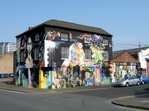 Digbeth street art (photo by Roger Marks)